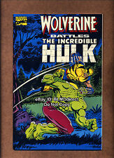 1990 Wolverine Battles The Incredible Hulk #1 VF/NM First Print Marvel 180 181