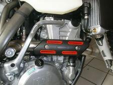 Krümmerschutz rot für HONDA CR250F CR450F BETA RR RR 4T Auspuff Hitzeschutz