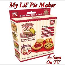 NEW My Lil' Pie Maker Set ~ As Seen On TV