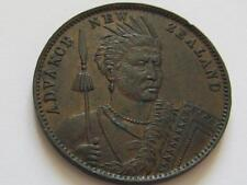 Milner & Thompson Advance New Zealand Penny Token - Very good Collectable