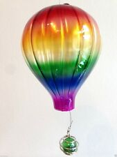 Vitraux air balloon Rainbow Suncatcher mobile chakra Gay Pride reiki