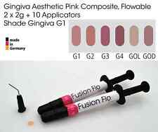 Gingiva Gum Shade Aesthetic Pink Flowable Dental Composite 2 x 2g, VITA G1