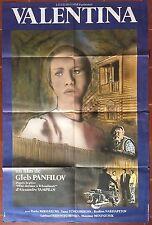 Affiche VALENTINA Gleb Panfilov RODION NAHAPETOV Inna Churikova 80x120cm *D