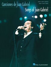 Songs of Juan Gabriel Sheet Music P V G Composer Collection NEW 000313129