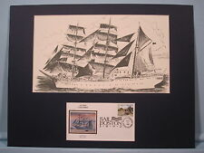 """The Tall Ships - the """"Gloria"""" of Columbia & Commemorative Cover"""