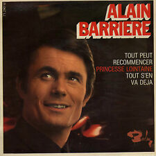 ALAIN BARRIERE TOUT PEUT RECOMMENCER FRENCH EP JEAN BOUCHETY / ARMAND MIGIANI