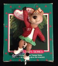 Hallmark 1987 Collectors Series Reindeer Champs Keepsake Ornament