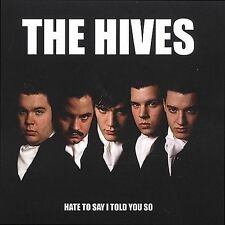 THE HIVES Hate to Say I Told You So [Single] CD