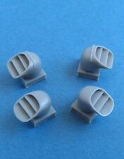 Pavla U72152 1/72 Resin BAe Harrier GR.1/GR.3 exhaust nozzles Airfix