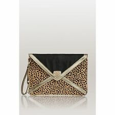..GUESS ..ICA ENVELOPE CLUTCH LEOPARD  GREAT FOR NIGHT OUT...BLOW OUT!...