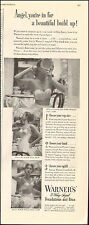 1949 Vintage ad for Warner's 3-way Sized Bras`Sexy Models Photos (120216)