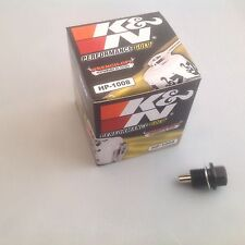 Mazda RX8 1.3L K&N Oil Filter + Magnetic Sump Plug
