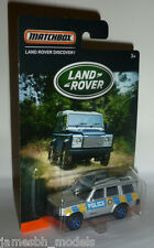 "Matchbox Land Rover Discovery ""Police"" (2016) NEW"