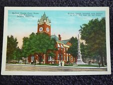 1920's Madison County Court House & Monument in Jackson, Tn Tennessee PC