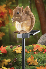 Solar Power Squirrel Garden Stake Light Night Lighting Outdoor Home Decor New