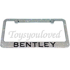 8 Rows Bentley Crystal Bling License Plate Frame made with Swarovski Elements