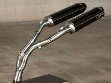 M4 Exhaust Yamaha R1 04-06 Undertail slip on Cat Eliminator with CARBON mufflers