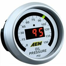 AEM ELECTRONICS 30-4407 Digital Oil Pressure Gauge 0 to 150 PSI