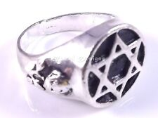 Star Of David Magen Judaica Silver Ring Kabbalah Gift Jewish Israel