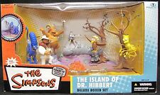 McFarlane Toys The Simpsons Island of Dr. Hibbert Deluxe Boxed Set Action Figure