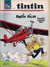 JOURNAL DE TINTIN N°1001 - 28 DECEMBRE 1967 - GODARD