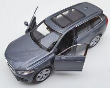 BLITZ VERSAND Volvo XC 90 grau / gray Welly Modell Auto 1:34-39 NEU & OVP