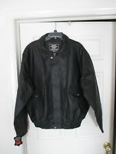 Rocky Mountain Hides Black leather Motorcycle jacket coat Size 2X NWT Mens