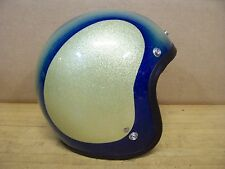 Vintage Shoei Helmet Gasser Hot Rat Rod Chopper Bobber Motorcycle Metal Flake