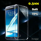 0.3mm Soft TPU Silicone Clear Crystal Transparent Case Cover For Various Phones