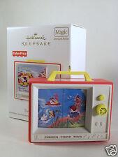 Hallmark Ornament 2012 Two Tune TV Fisher Price  Magic #QXI2671 NEW