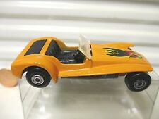 LESNEY MATCHBOX 1971 MB60B ORANGE LOTUS SUPER 7 + Flames Label *C9 MINT PVC BOX*