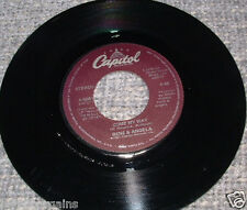 """45rpm~RENE & ANGELA~Come My Way/Imaginary Playmates♫A-5081♫Vinyl 7""""Record♫VG/EXC"""