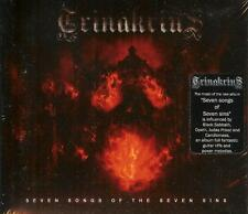 Trinakrius - Seven Songs of Seven Sins CD 2013 digipack power metal Italy