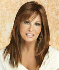 new style brown mixed long charming wigs for modern women hair wig