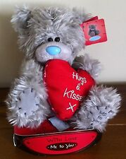 """Me To You Tatty Teddy Bear/Valentines Day Gift Hugs & Kisses Red Love Heart 6"""""""