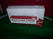 Corgi Modern Roadscene 1:76 CC18107 Scania Curtainside Sandy Kydd 00