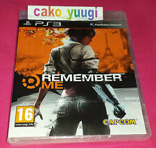 REMEMBER ME SONY PS3 NEUF SONY PS3 NEUF SOUS BLISTER VERSION 100% FRANCAISE