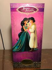 Disney Designer Fairytale Collection Doll Jasmine and Aladdin Limited Edition