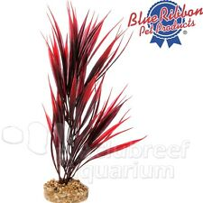 """Red Sword Gravel Weighted Base Free-Standing Colorburst Plastic Plant 10"""""""