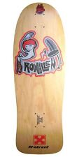 H Street Ron Allen SCREENED ON ORIGINAL 80s WOOD No Scratch Skateboard NATURAL