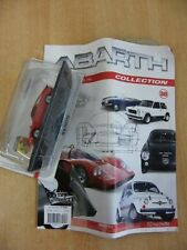 ABARTH COLLECTION 38 1000 BIALBERO 1962 MODELLINO SCALA 1:43