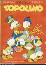 TOPOLINO LIBRETTO n° 996 - 2  DICEMBRE 1974- CON BOLLINO -CON INSERTO- OTTIMO ++