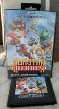 Sega Megadrive GUNSTAR HEROES original  boxed mega drive Very good condition