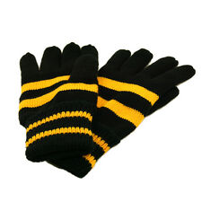 Soft Knit Men's Striped Winter Insulated Gloves - Different Colors Available