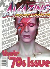 AMAZING FIGURE MODELER #62 '70s Issue STAR WARS David Bowie ALIEN Wonder Woman