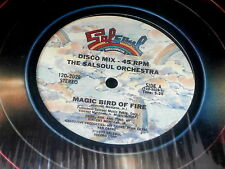 "SALSOUL ORCHESTRA~MAGIC BIRD OF FIRE~GETAWAY~SALSOUL 2028~ 12"" SINGLE"