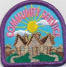 Girl Boy Cub COMMUNITY SERVICE HOMES Fun Patches Crests Badges SCOUT GUIDE