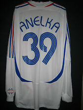 FRANCE National Team 2007 FORMOTION Away Player-issue Long-sleeve Shirt ANELKA