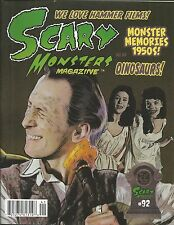 Scary Monsters magazine Peter Cushing Hammer Films Science fiction cinema