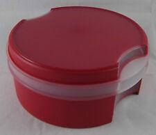 Tupperware A 125 Dolce Vita Keksdose Dose Süße Freude 1,7 l Rot / Weiß Neu OVP